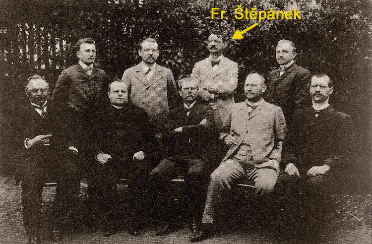 Učitelský sbor  1904