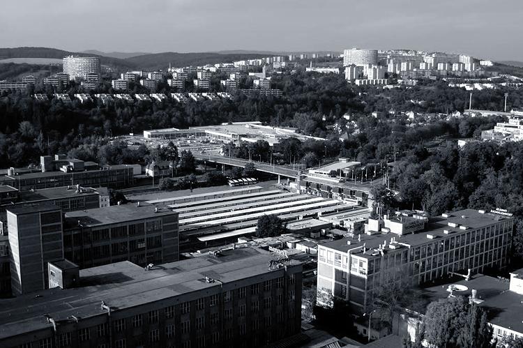 Čepkovské území ze 21. budovy