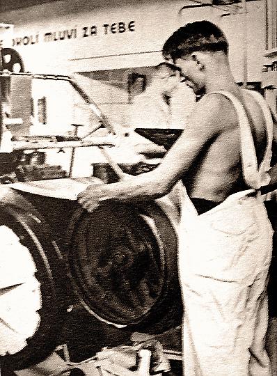 výroba pneumatik ve Zlíně