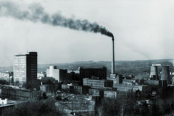 Zlín 1976 - Svit z kolektivního domu
