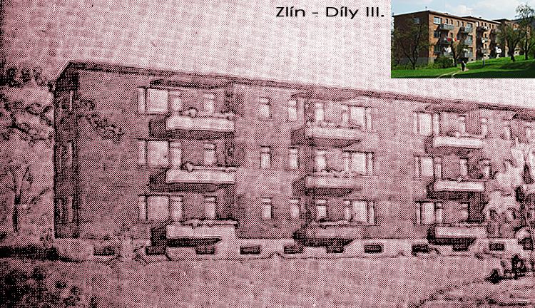 třípodlažní bytový dům z roku 1946