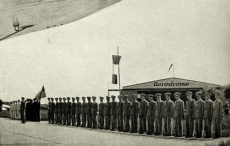 otrokovické letiště 1937