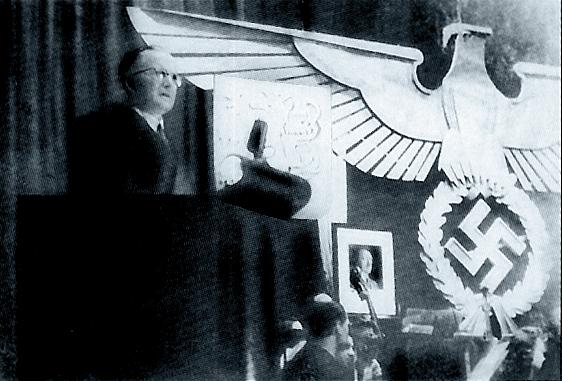 nacistická přednáška