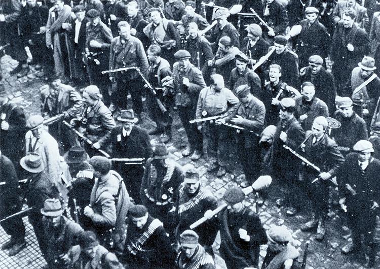 partyzáni a jejich osobní zbraně