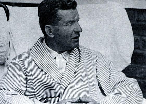 Tomáš Baťa v nemocnici