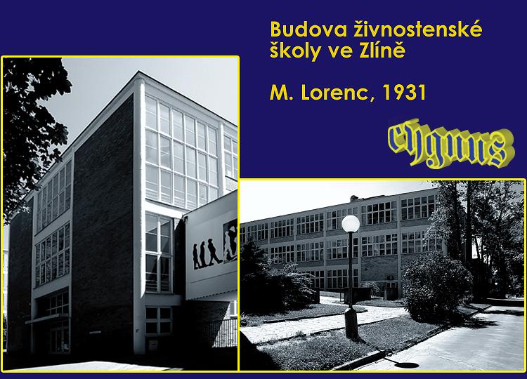 Zlín - živnostenská škola