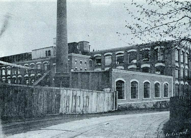tovární ulice