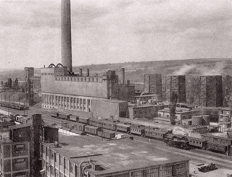 zlínské nádraží 1951