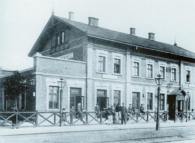 otrokovice -nádraží 1905