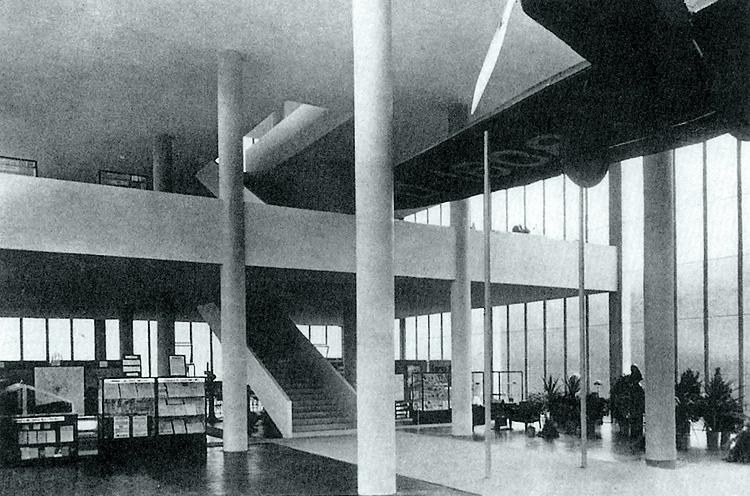 památník T. bati - interier vstupu