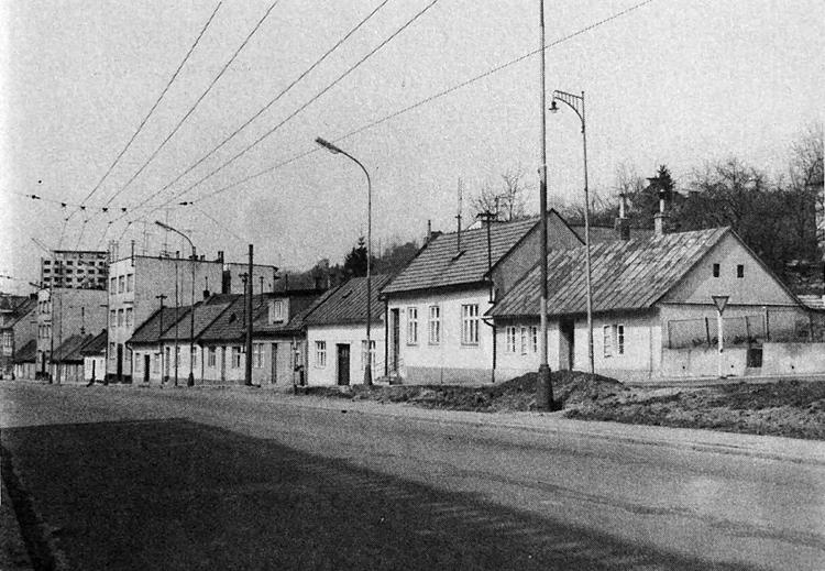 Ulice Padělka - Sokolská