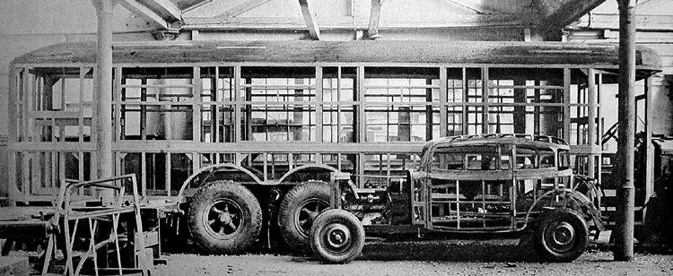 Baťa buduje spojení praha-zlín mohutnými lůžkovými autobusy