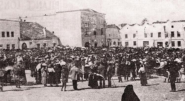 tábor lidu 1918