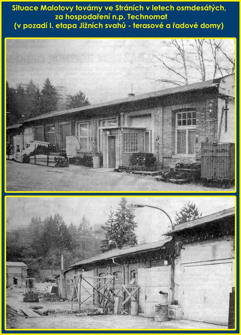 Malotova továrna ve Stráních