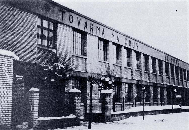 Obuvnická továrna Františka Nováka