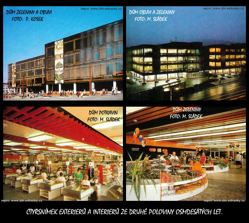 Čubovy obchodní domy 1987-88