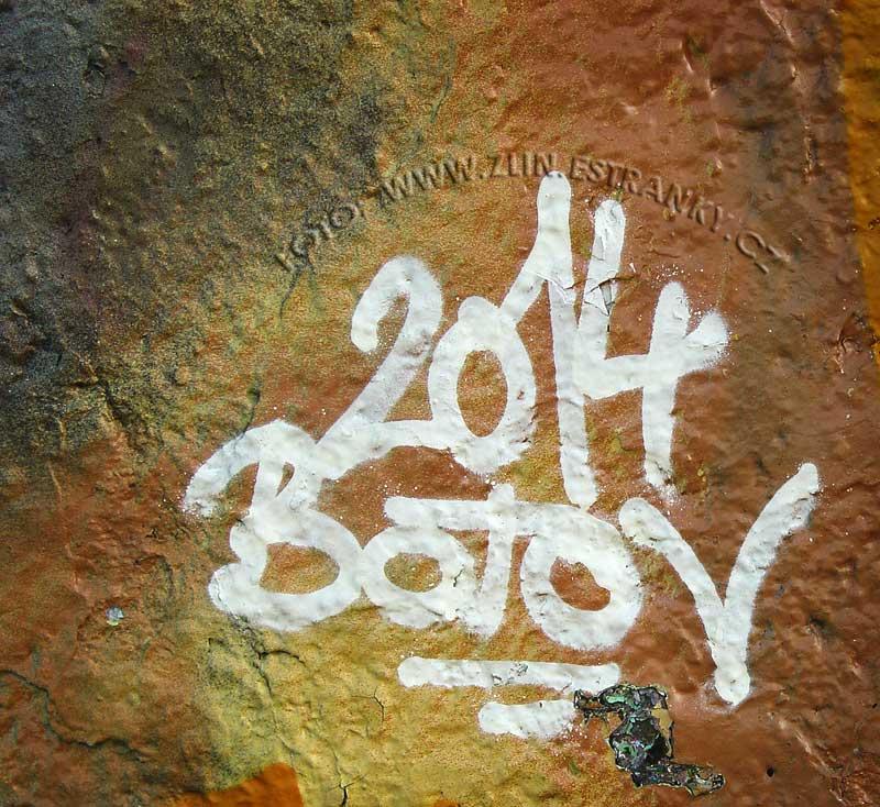 Baťov 2014 - Grafitti z Jižních svahů