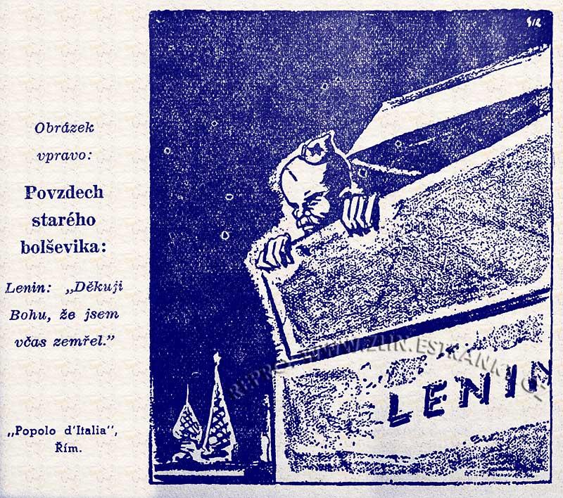 Výběr - vtip Lenin