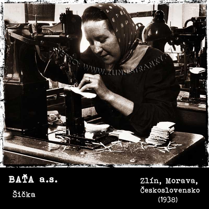 Baťa a.s. - šička (1938)
