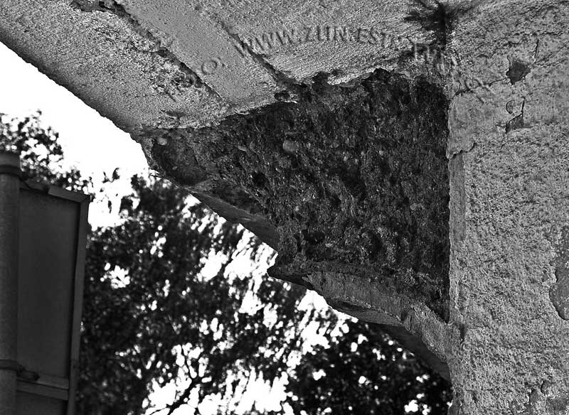 Dlouhá ulice - železniční nadjezd - detaily nosné konstrukce po 80ti letech 3