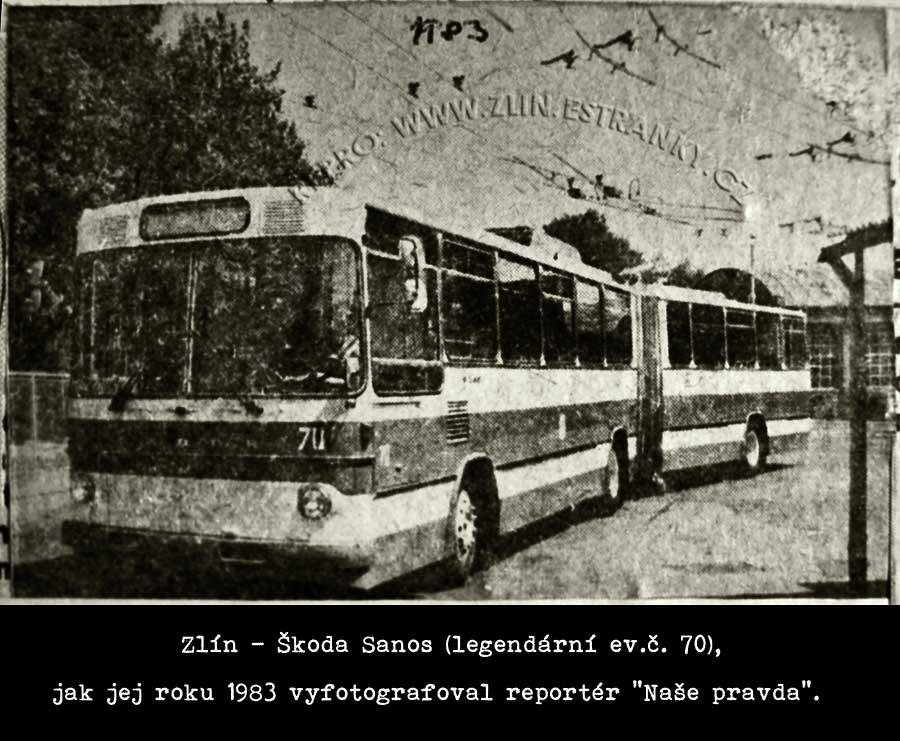 Trolejbus Škoda Sanos