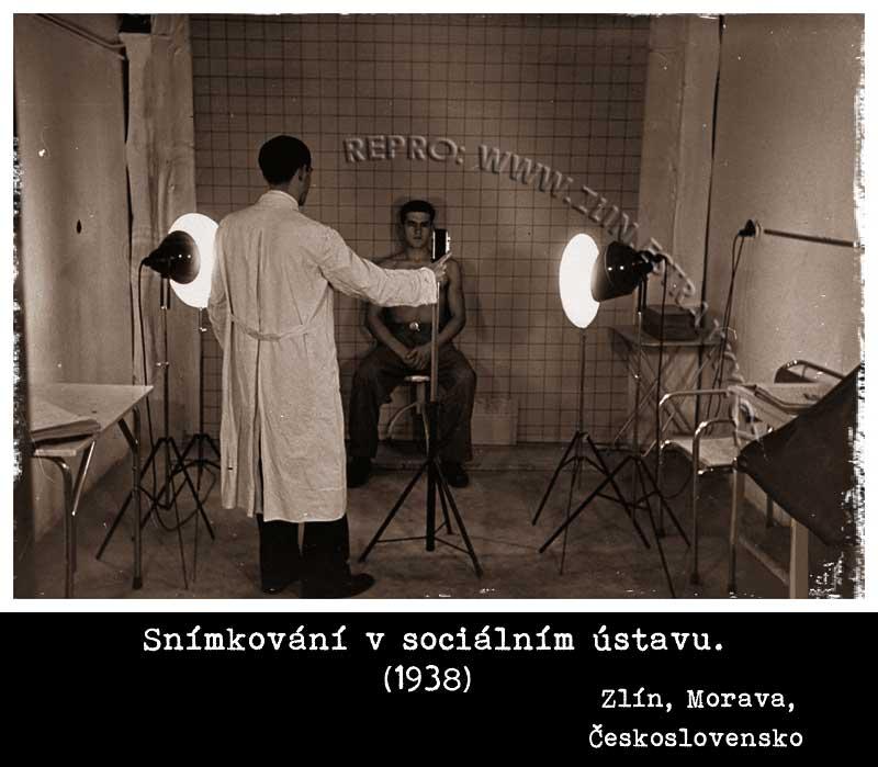 Zlín - Sociální ústav -1938