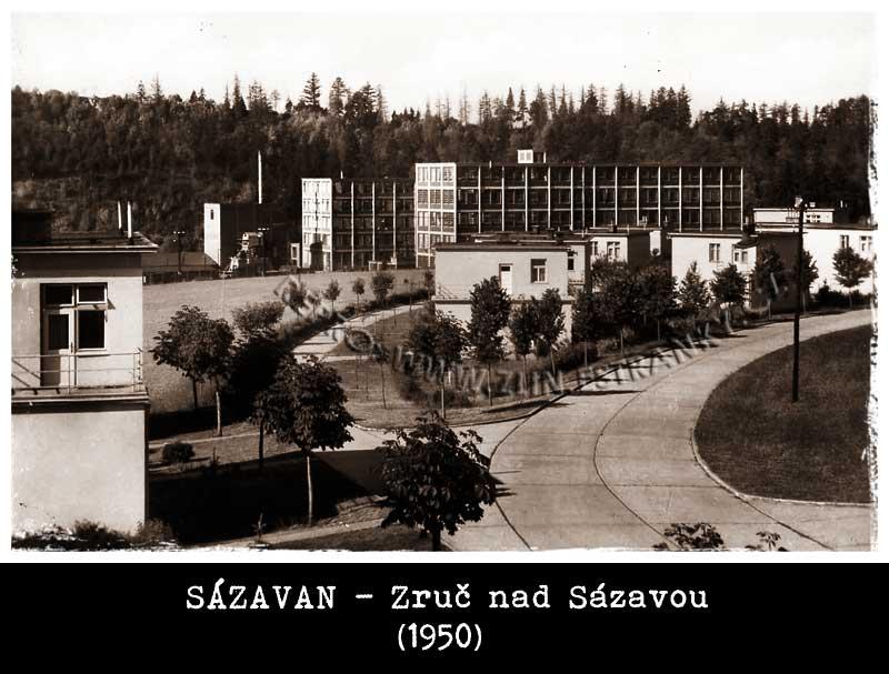 Zruč nad Sázavou - Sázavan (1950)