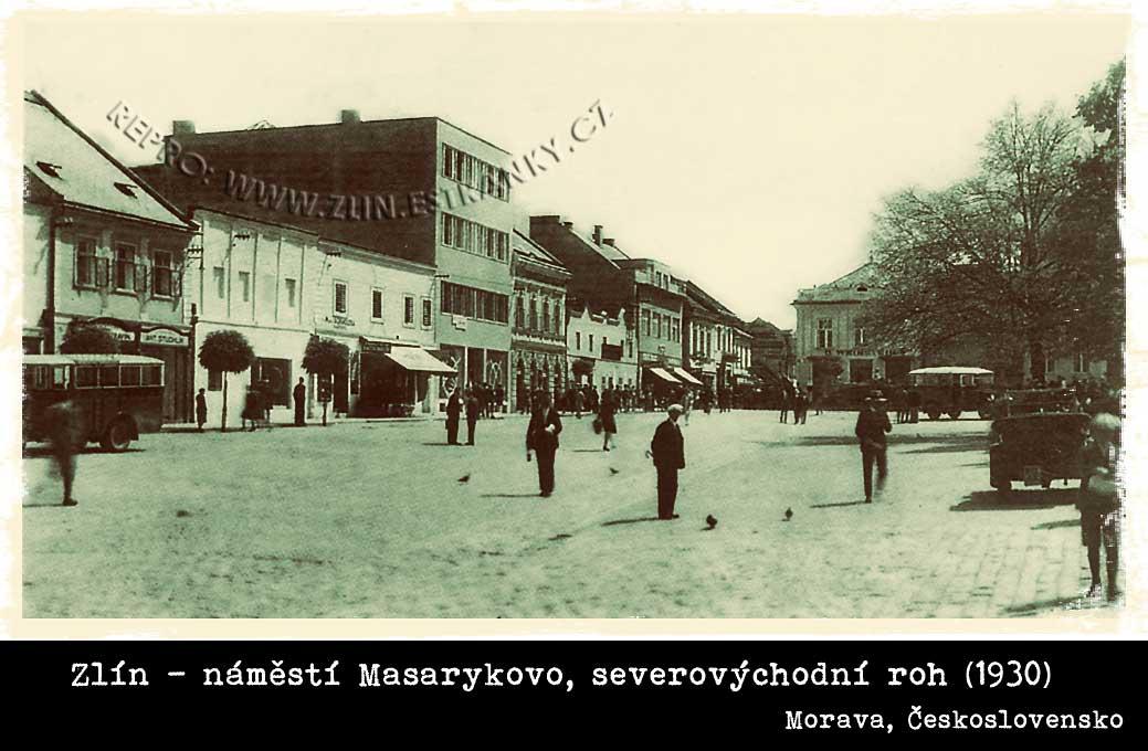 Masarykovo náměstí ve Zlíně (1930)