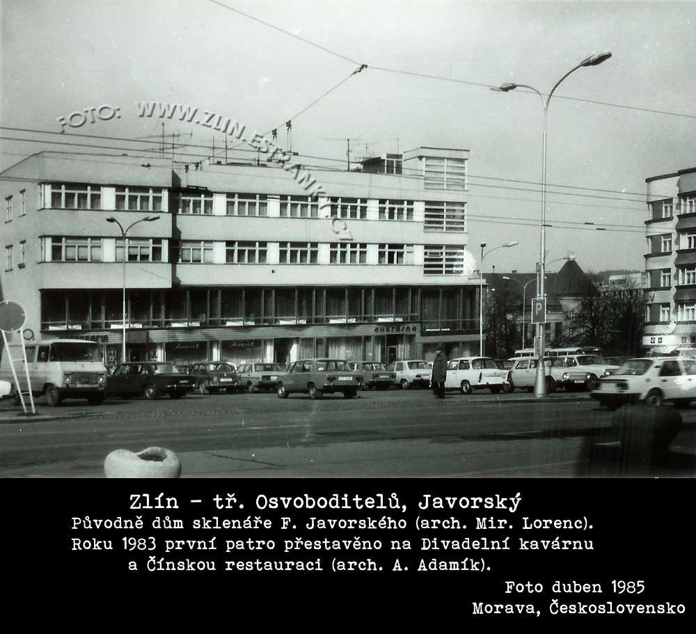 Arch. Miroslav Lorenc - dům pana F. Javorského ve Zlíně