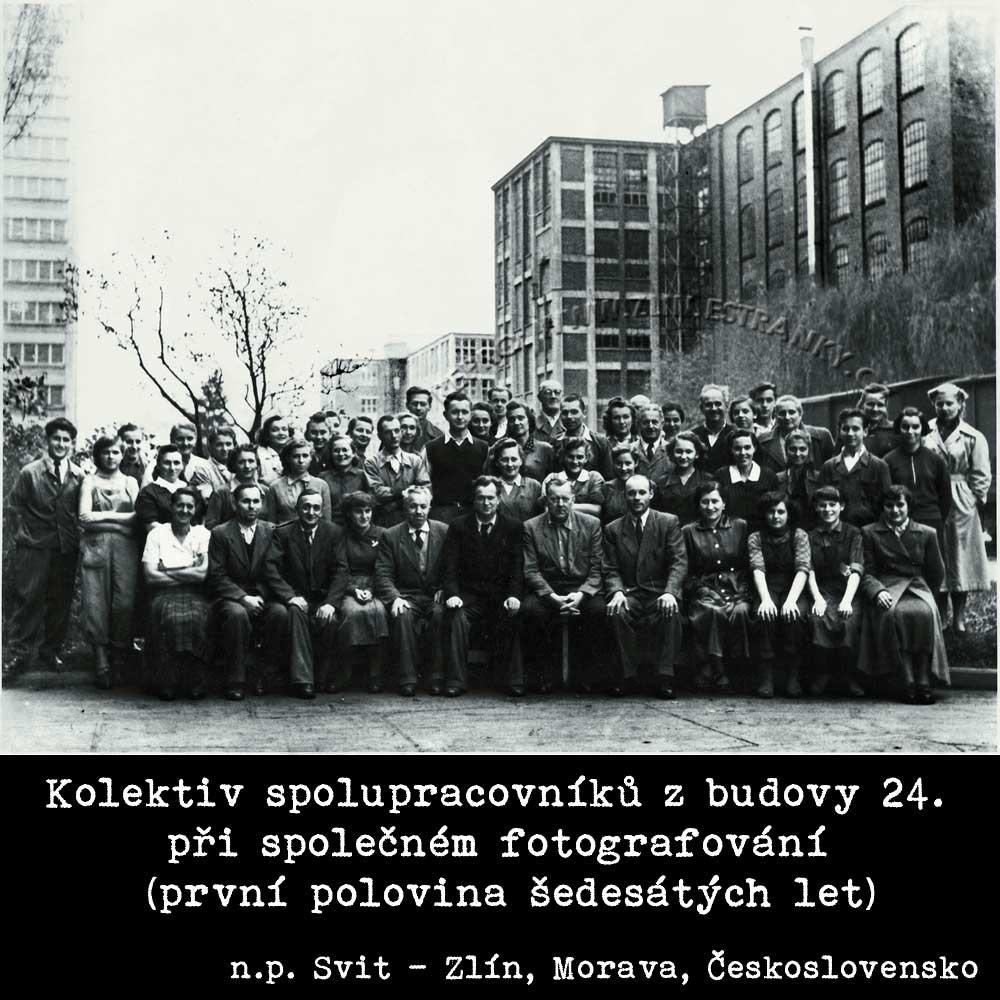 Svit n.p. - kolektiv spolupracovníků z b. 24