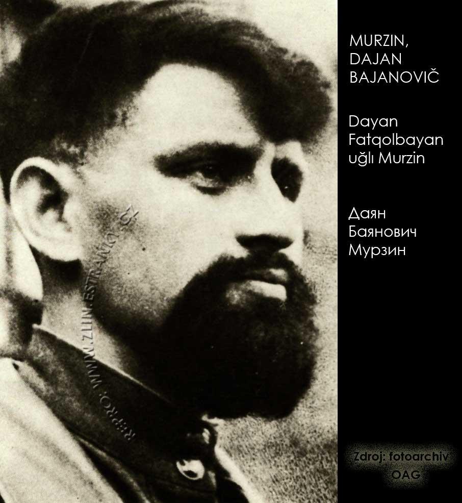 Murzin Dajan Bajanovič v roce 1945